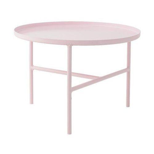 Metalowy stolik kawowy S, różowy - Bloomingville