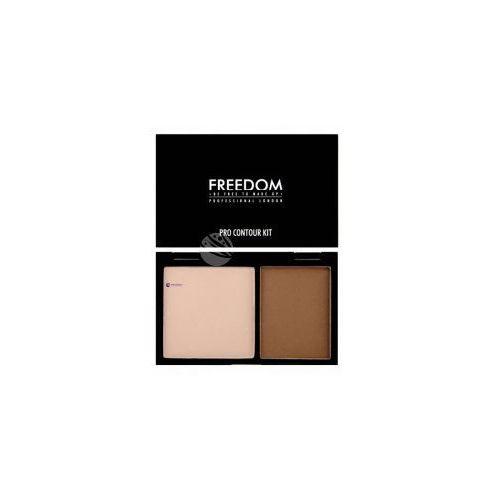 Freedom pro contour kit (w) paleta do konturowania twarzy 01 medium 6g