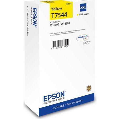 Epson tusz Yellow T7544 XXL, C13T754440