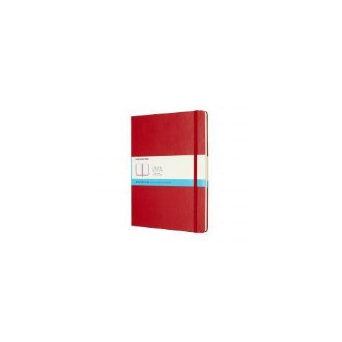 Notatnik Moleskine Classic XL kropki, twarda oprawa, czerwony