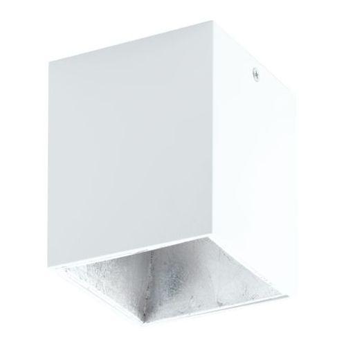 Eglo Lampa sufitowa polasso biało/srebrna, 94499