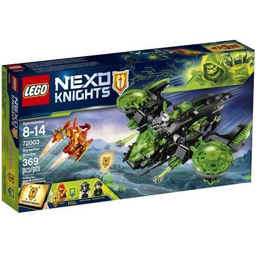 Lego NEXO KNIGHTS Bombowiec berserkera berserker bomber 72003 rabat 5%