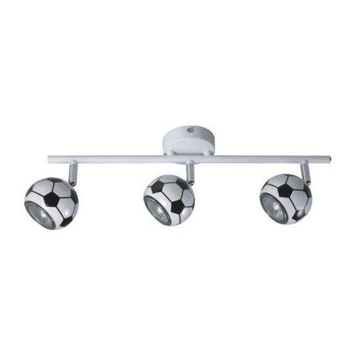 Spotlight Listwa lampa oprawa sufitowa spot light play 3x50w gu10 czarny/biały 2400304 (5900805048427)