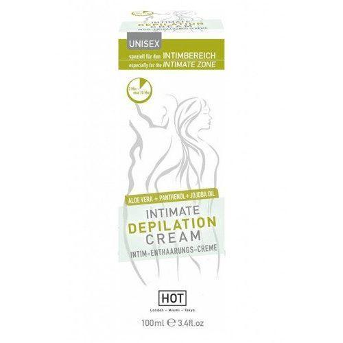 Krem do depilacji intymnej intimate dla kobiet i mężczyzn 100 ml 44051 marki Hot
