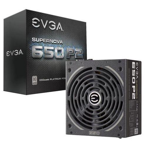 Zasilacz EVGA SuperNOVA 650W (220-P2-0650-X2) Darmowy odbiór w 21 miastach!, 220-P2-0650-X2