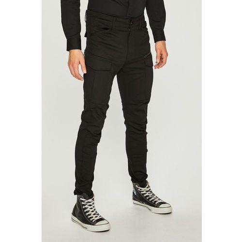 - spodnie rovic zip 3d skinny marki G-star raw