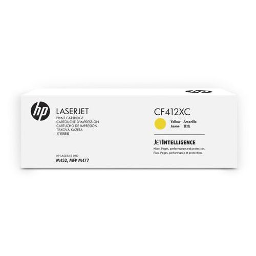 oryginalny toner HP 410X [cf412xc] yellow - korporacyjny