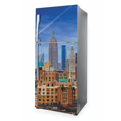 Naklejka na lodówkę panorama Nowego Jorku P1058