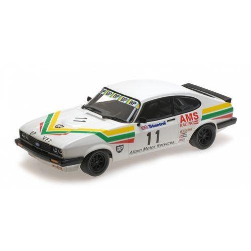 Minichamps Ford capri 3,0 allam motor services rac. #11 j. allam winner silverstone club circuit race bscc 1979 - (4012138141131)