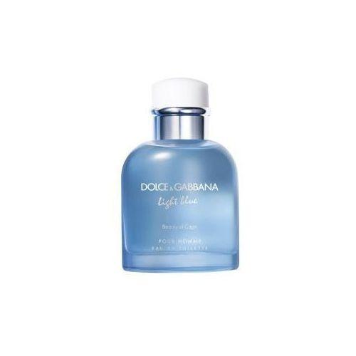 FLAKON DOLCE & GABBANA LIGHT BLUE BEAUTY OF CAPRI POUR HOMME EDT 125ML