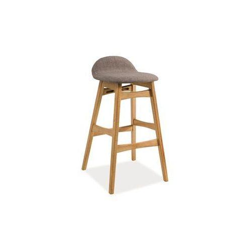 Krzesło barowe - hoker - - trento - styl skandynawski marki Signal