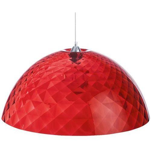 STELLA - Lampa wisząca Czerwony Przezroczysty XL (4002942235867)