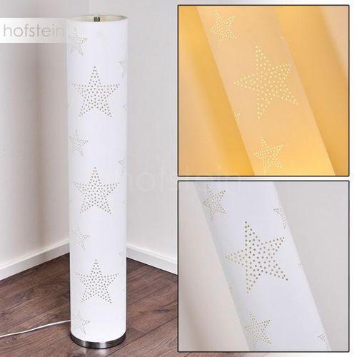 Hofstein Macossa lampa stojąca siwy - nowoczesny - obszar wewnętrzny - macossa - czas dostawy: od 3-6 dni roboczych