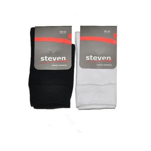 Skarpety Steven art.001 38-40, czarny/nero. Steven, 29-31, 32-34, 38-40, 35-37