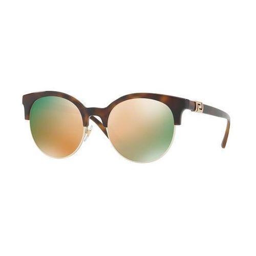 Okulary Słoneczne Versace VE4326B 51484Z, kolor żółty