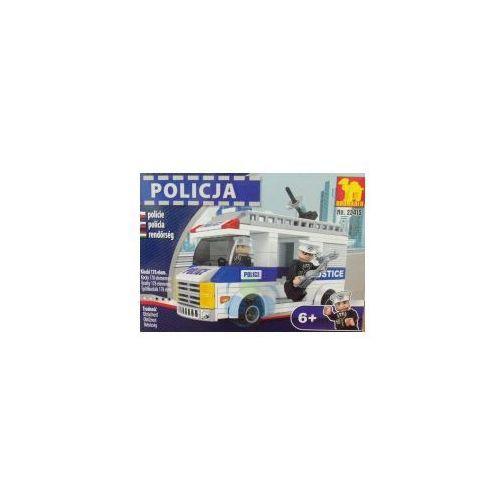 KLOCKI POLICJA FURGONETKA 23415- 178 elementów