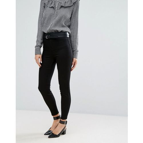New look india disco skinny jeans - black