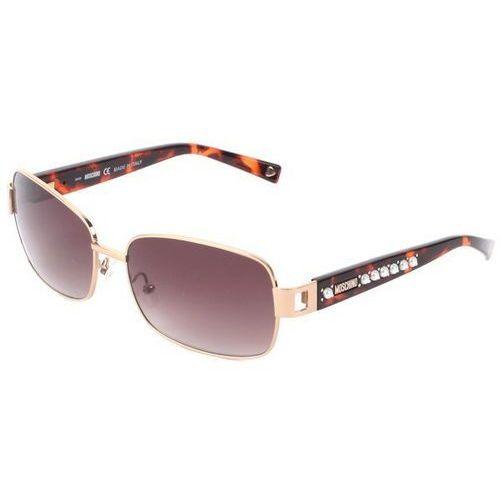 Okulary słoneczne mo 560/strass 04 marki Moschino