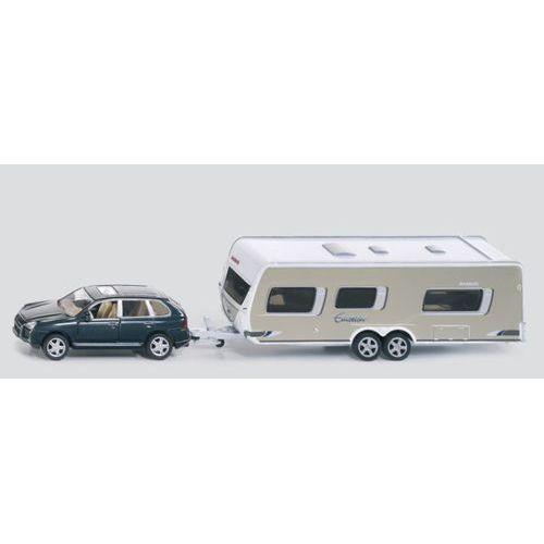 Siku, model Samochód z przyczepą campingową - produkt z kategorii- Pozostałe samochody i pojazdy