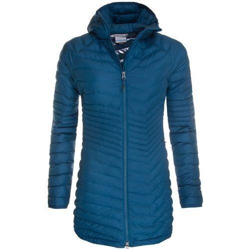 Płaszcz Columbia Powder WK0034489, kolor niebieski
