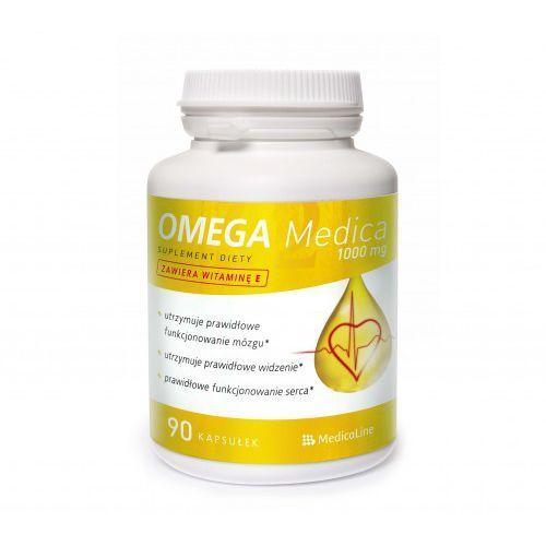 OMEGA MEDICA 90 kapsułek 1000 mg