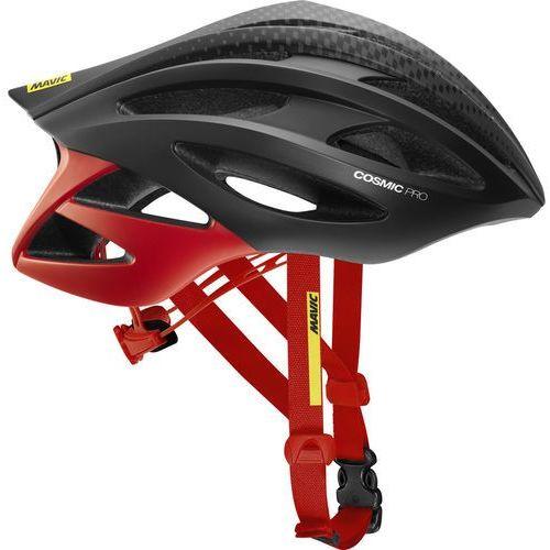 cosmic pro kask rowerowy mężczyźni czerwony/czarny 57-61 cm 2018 kaski szosowe marki Mavic