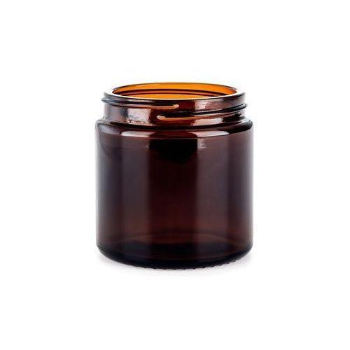 Comandante bean jar brown glass brązowy słoik na zmieloną kawę