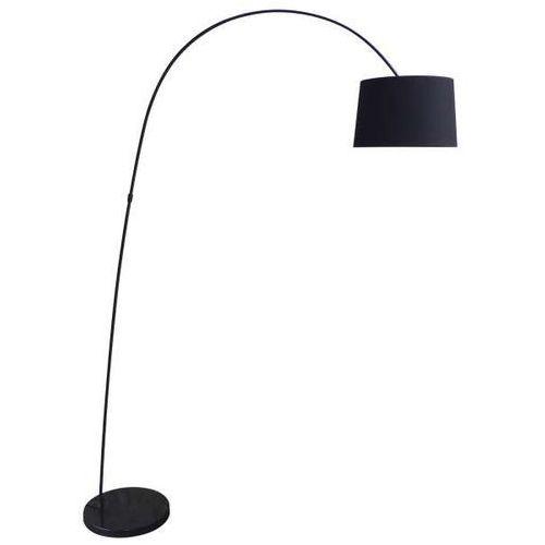 Zumaline Lampa podłogowa costanza ts-070720f-bk abażurowa oprawa stojąca czarna