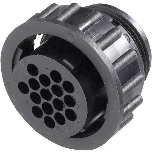 Te connectivity Gniazdo cpc  182648-01/182647-1, z nakrętką, 4-pin, 5000 mohm (2050000274091)