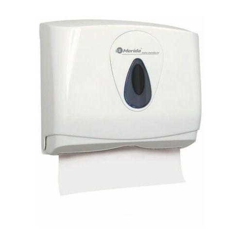 Merida Pojemnik na pojedyncze ręczniki papierowe top mini, okienko szare