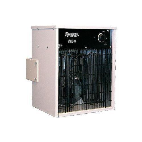 Nagrzewnica elektryczna Inelco Dania SH 6 o mocy 6 kW - wisząca na ścianie PROMOCJA, SH 6