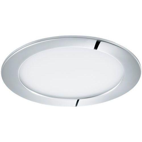 Plafon Eglo Fueva 1 96055 lampa oprawa wpuszczana downlight oczko 1x10,9W LED biały / chrom okr.
