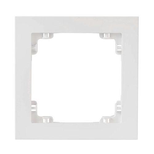 Ramka pojedyncza Karlik Deco DR-1 uniwersalna biała (5903418062262)