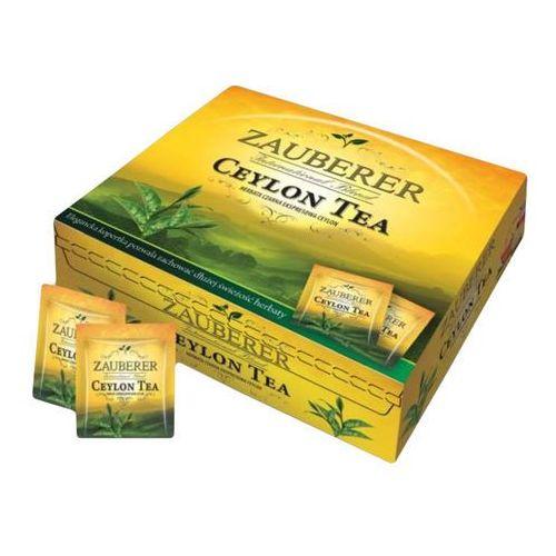 . herbata czarna ceylon w kopercie 100 szt. marki Zauberer
