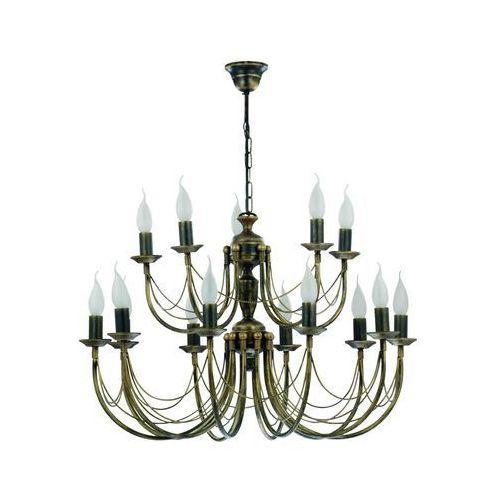 Nowodvorski Lampa wisząca ares xv 208 zwis oprawa 15x60w e14 stal (5903139208994)