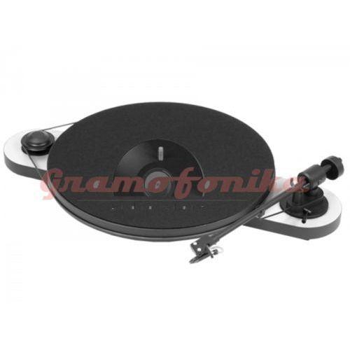 Gramofon Pro-Ject ELEMENTAL bez pokrywy biało-czarny