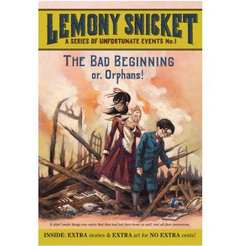 The Bad Beginning. Der schreckliche Anfang, englische Ausgabe