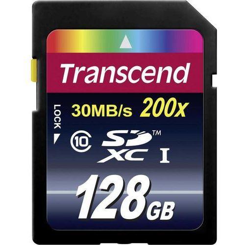 Karta pamięci SDXC Transcend TS128GSDXC10, 128 GB, Class 10, 30 MB/s / 22 MB/s