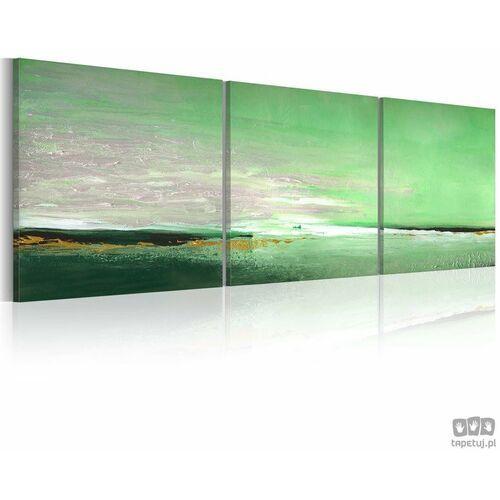 Artgeist Obraz ręcznie malowany seledynowe wybrzeże