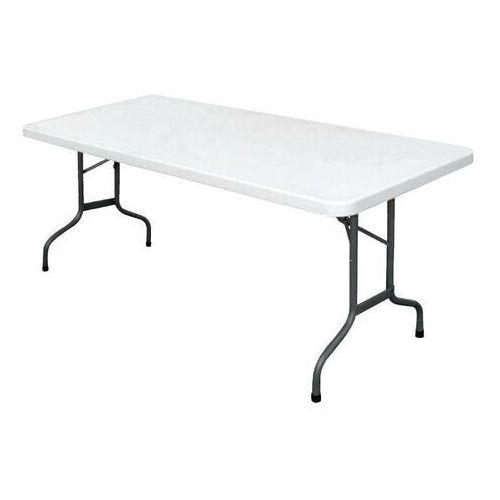 Bolero Stół składany biały   182,7x75x(h)74,5cm