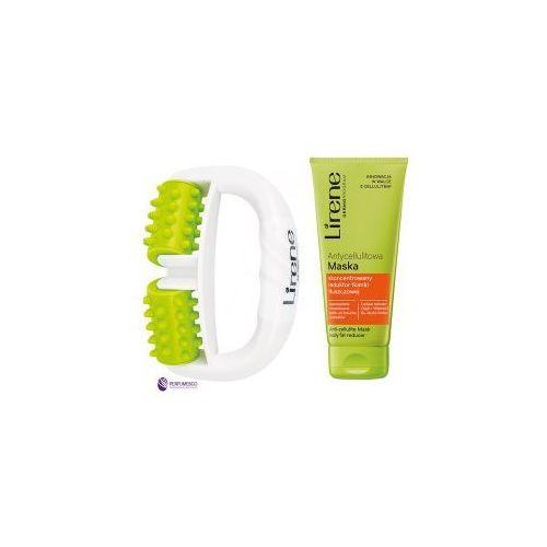 SET Lirene Antycellulitowy Lipo-Masaż (W) masażer ręczny + antycellulitowa maska 200ml
