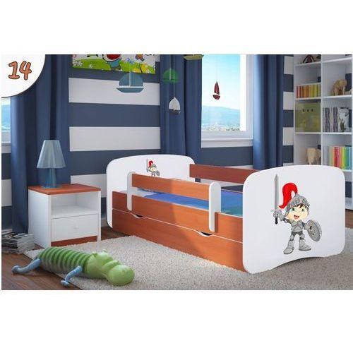 Łóżko dziecięce Kocot-Meble BABYDREAMS - Rycerz - Kolory Negocjuj Cenę