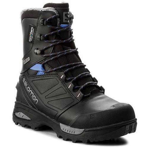 Śniegowce SALOMON - Toundra Pro Cswp 399722 21 G0 Phantom/Black/Amparo Blue, kolor czarny