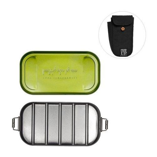 Healthy plan by ann (anna lewandowska) Lunchbox stalowy w pokrowcu - 2 kolory do wyboru