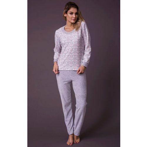 Piżama Cana 394 S-XL M, biało-szary jasny melange. Cana, L, M, S, XL, 5902406139412