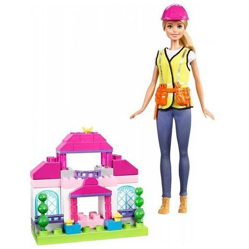 Lalka budowniczy + zestaw klocków marki Barbie