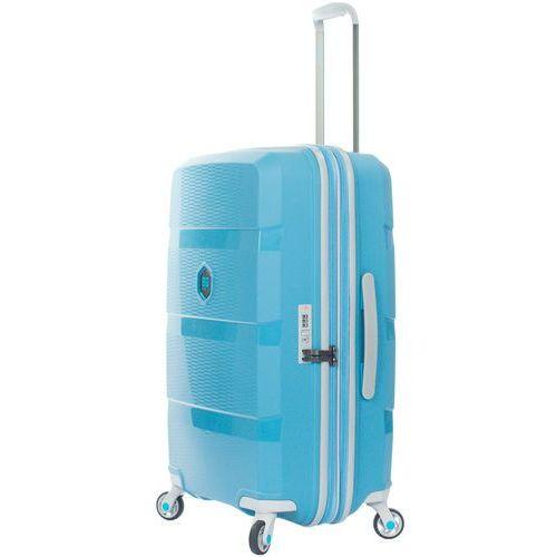 zip2 walizka średnia poszerzana 69,5 cm / hip hop blue - hip hop blue marki Bg berlin
