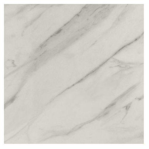 Goodhome Panel przyblatowy laminowany algiata 0,8 x 60 x 300 cm biały marmur