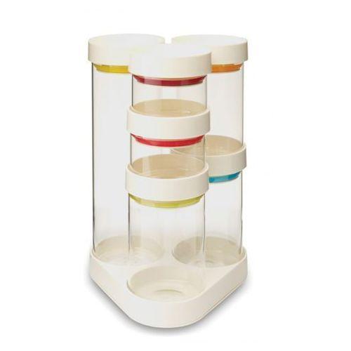 - food store zestaw pojemników biały ilość elementów: 7 marki Joseph joseph