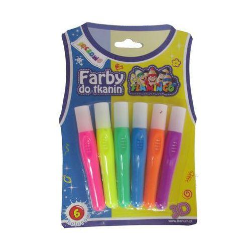 Titanum Farby do tkanin 6 kolorów tęczowe 334705 -